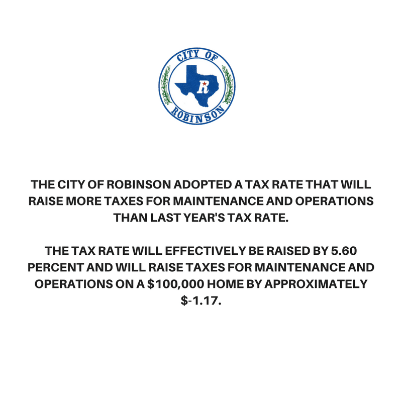 2017_26.05(b) of Property Tax Code_Steps Required for Adoption of Tax Rate