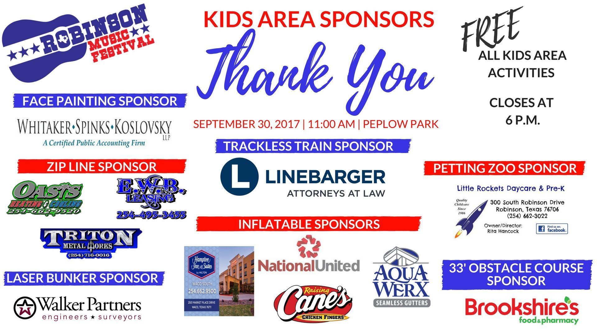 Kids Area Sponsor Thank You (1)