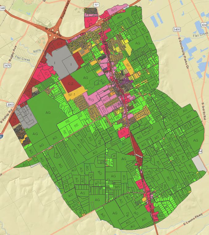 Zoning Map City of Robinson