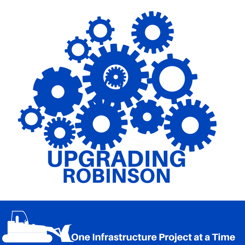Upgrading Robinson_Project at a Time