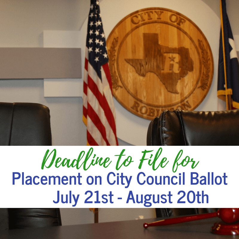 DeadlinetoFileCityCouncil2018