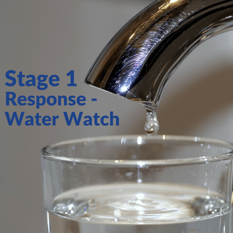 Stage 1 Response - Water Watch
