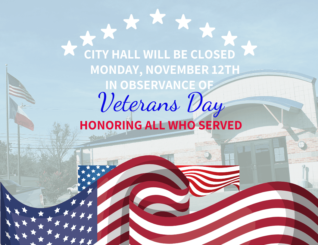 Closed Veterans Day 2018