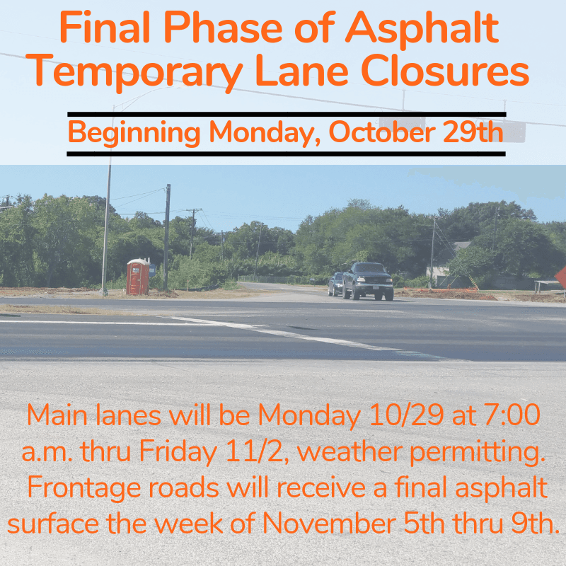 Final Phase of Asphalt Oct 2018 to November 2018