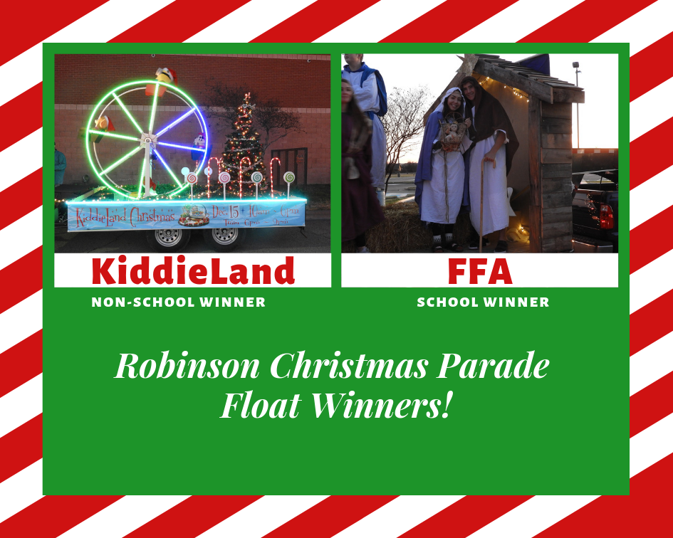 2018 Christmas Parade Float Winners