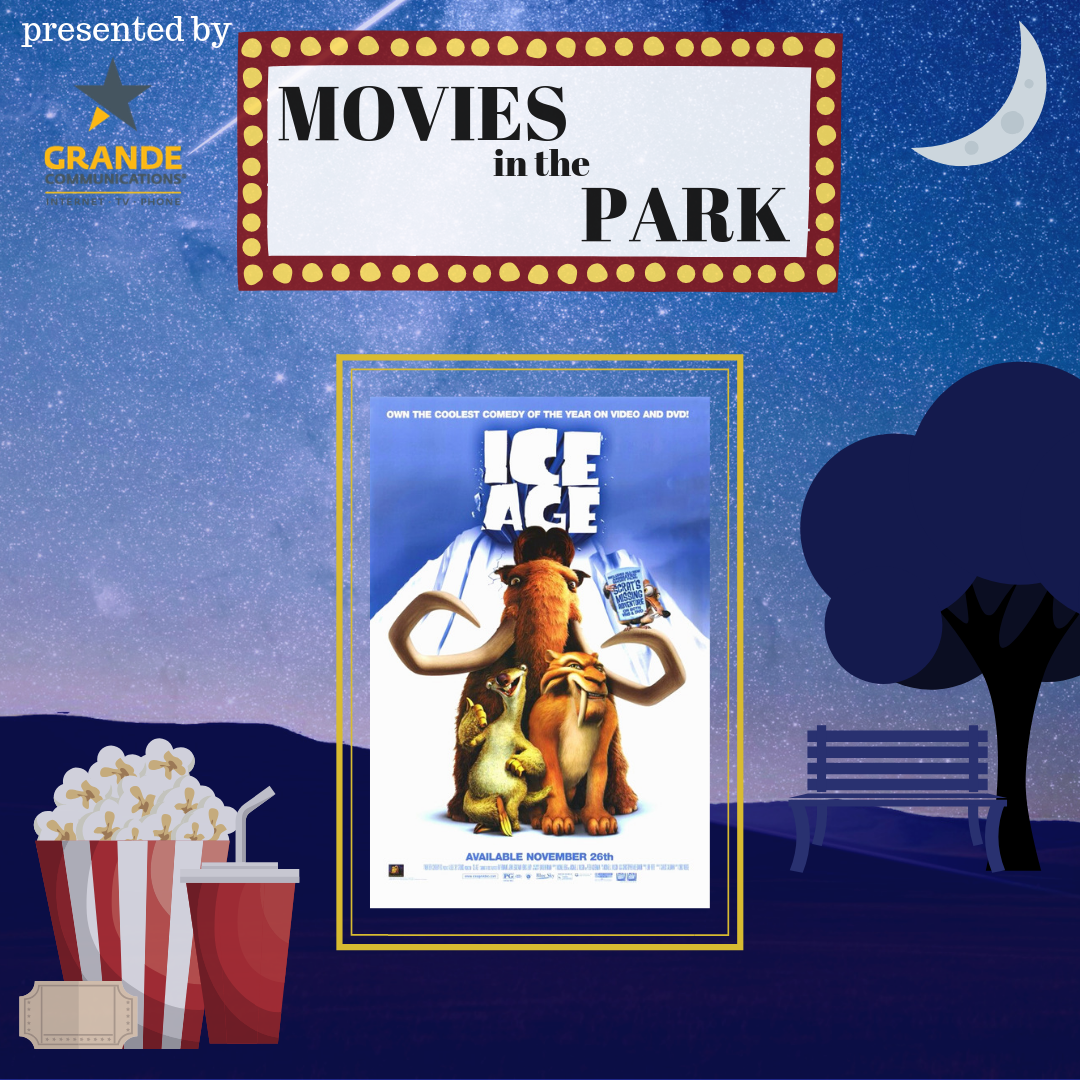 Movies in the Park (Ice Age)