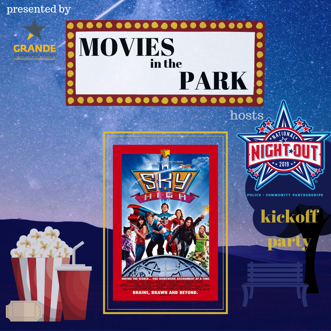 Movies in the Park (Sky High)