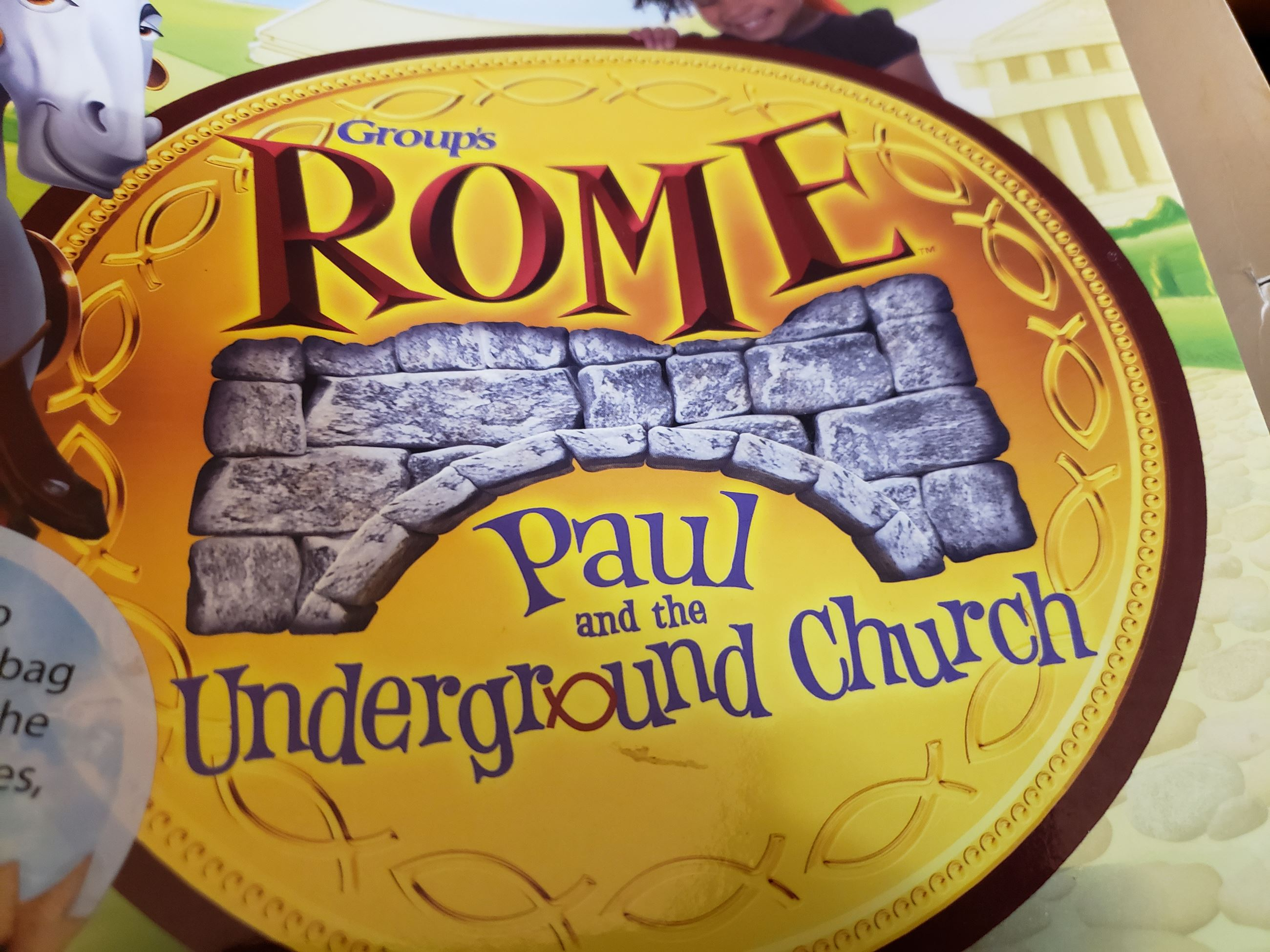 Cornerstone Baptist Church: Vacation Bible School. Rome: Paul and the Underground Church