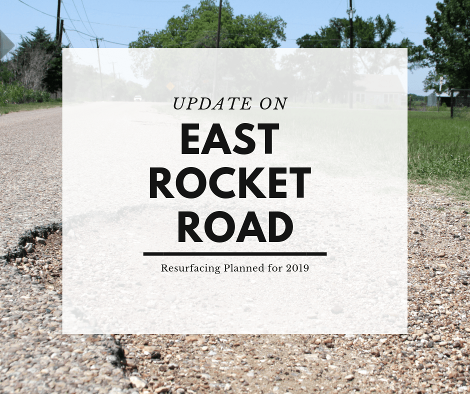 East Rocket Road Update