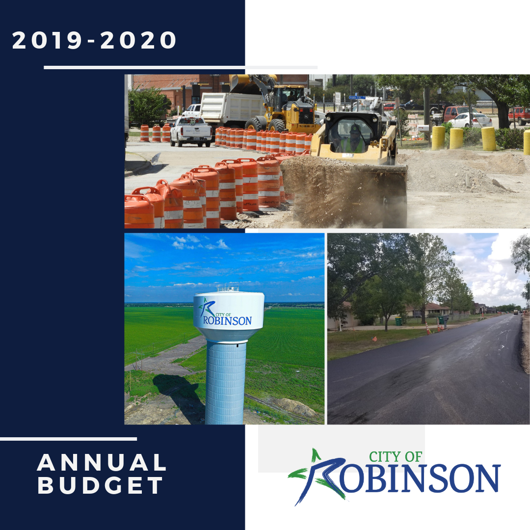 2019 - 2020 Adopted Budget and Tax Rate