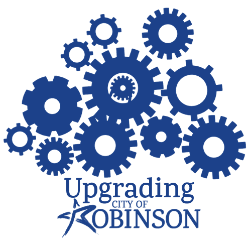 Upgrading Robinson Official Logo