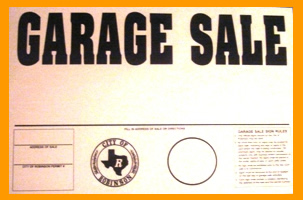 Garage Sale Seal